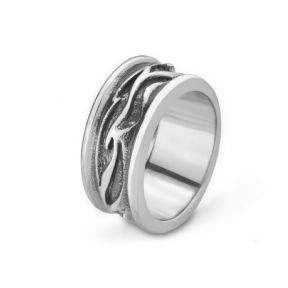 Celtic Stainless Steel Ring 9361
